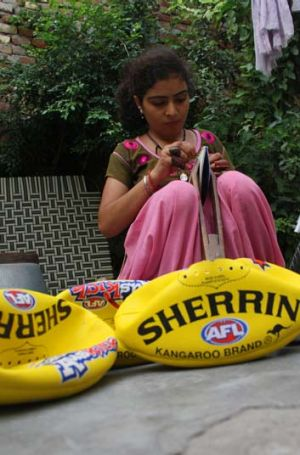 Should have known earlier ... Sherrin will no longer be using child labour to manufacture their iconic sports balls.