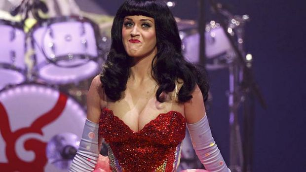 Bouncing back ... Katy Perry continues to go from strength to strength post divorce.
