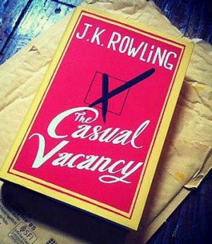 Long way from Hogwarts ... JK Rowling's new book.