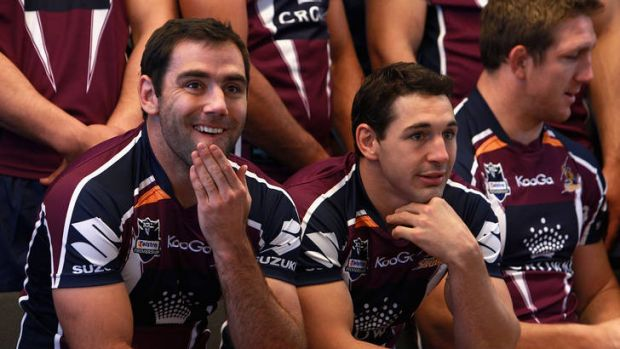 Cameron Smith and Billy Slater know what will await them on Sunday in the NFL grand final.