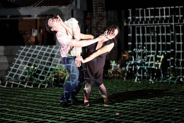 Never Did Me Any Harm. Physical theatre can take us to the far reaches of the imagination, but this collaboration ...