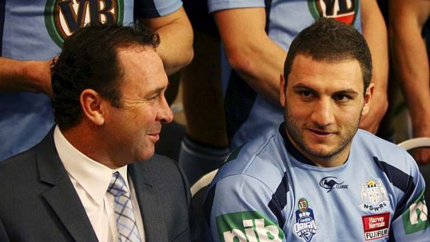 Not to be ... it had been suggested Robbie Farah could team up with his former Blues coach, Ricky Stuart, at the ...