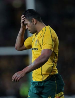 Kurtley Beale ... being targeted by the Springboks.