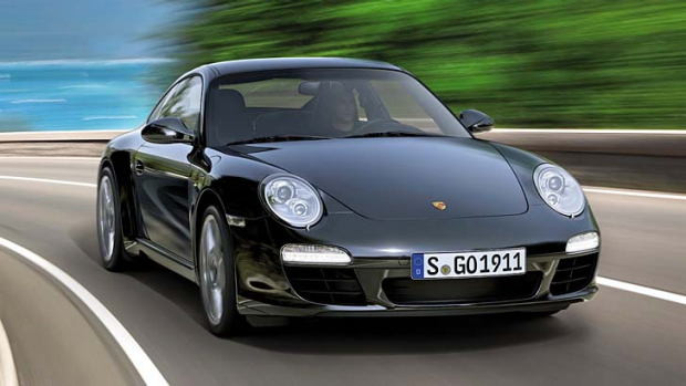 From purring kitten to snarling beast ... the 2012 Porsche 911 has a button opens up the exhaust sound.