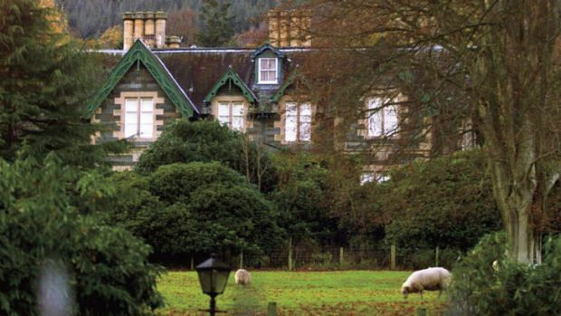 To the manor bought … Killiechassie House, the estate in rural Scotland purchased by Rowling in 2001.
