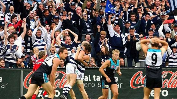 2007 Grand Final, Geelong v Port Adelaide at the MCG.