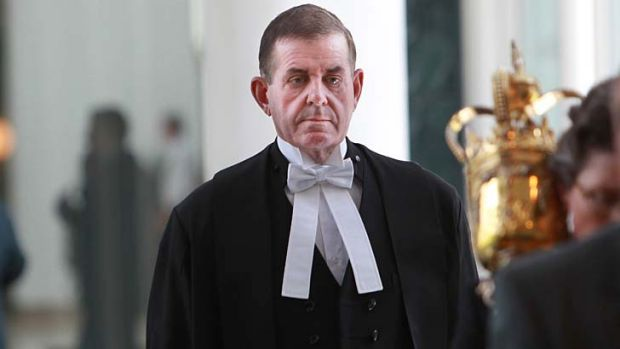 Peter Slipper .. .the case against him was thrown out.