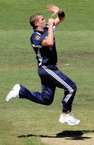 Ready to go: Peter Siddle.