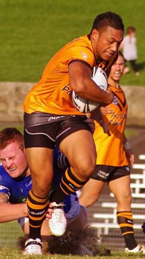 In the blood … Cassiano 'Gus' Aiga will line up in the NSW Cup final.