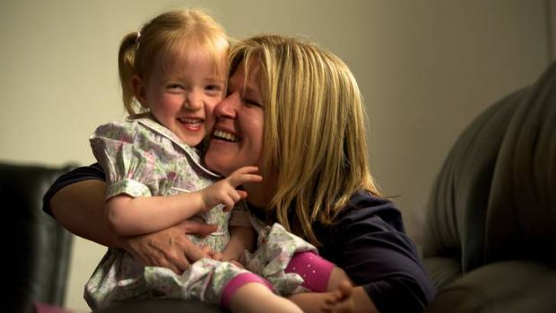Jennifer Benham - with Amy, now 3 - learnt how to respond to her premature daughter's needs.