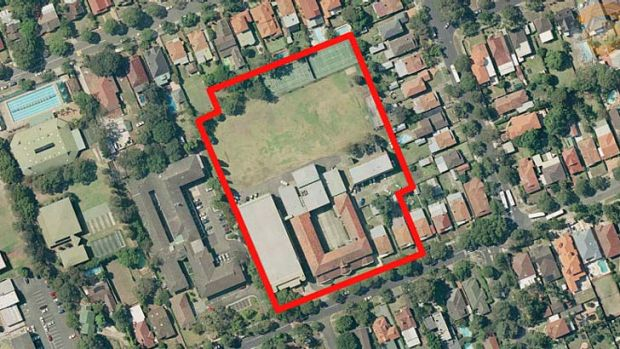 For sale ... Sydney Adventist College's site in Strathfield.