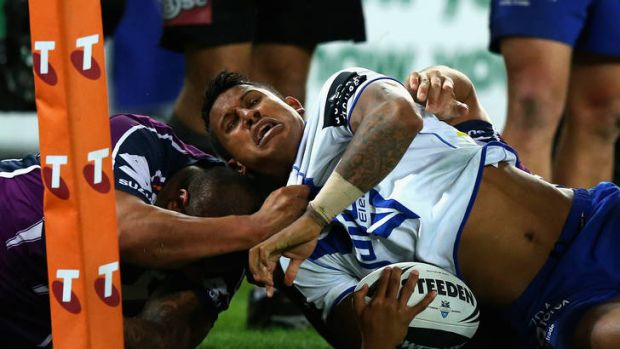 Good in a losing cause ... Ben Barba.