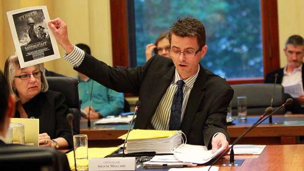 Neck and neck ... Liberal candidate Shayne Mallard.