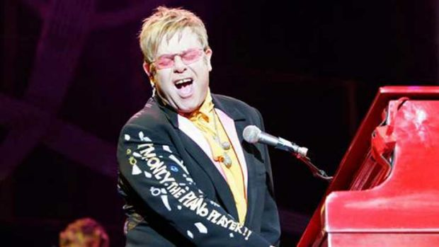Sir Elton John is coming to Canberra.