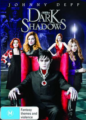 We've got three copies of the Dark Shadows DVD to give away.