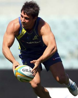 Wallabies halfback Nick Phipps.