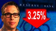RBA cuts interest rate to 3.25% (Video Thumbnail)