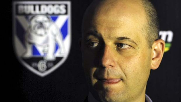The fallout continues ... Canterbury chief executive Todd Greenberg last night.