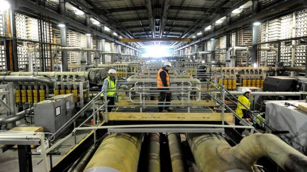 The Wonthaggi desalination plant project has been beset by a string of scandals and delays.