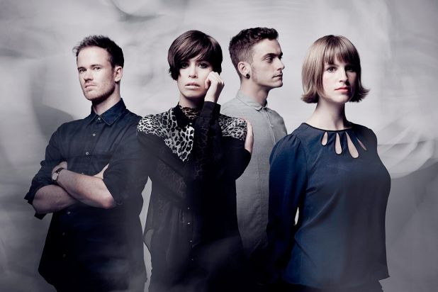 Best Group nominees: The Jezabels.