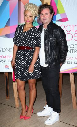 Connie Mitchell and Angus McDonald of Sneaky Sound System, nominated for best dance album.