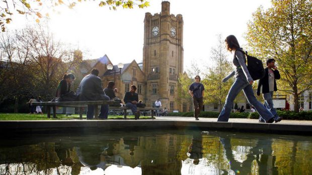 Melbourne University moved up nine places in the global rankings.