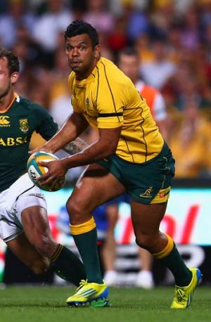 Key ... Kurtley Beale needs room to create.