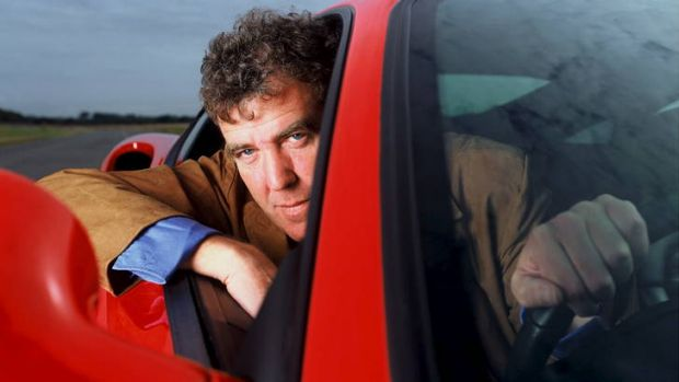 """""""A bit of a knob"""" ... Jeremy Clarkson from the TV show Top Gear."""