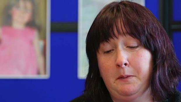 Coral Jones appeals for the return of her 5-year-old daughter April Jones Aberystwyth, Wales .  The five-year-old was ...