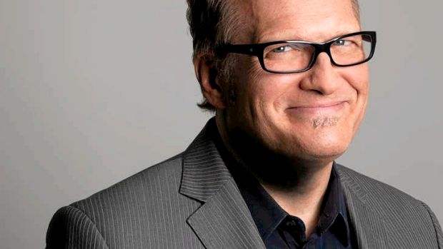 Strong views … Drew Carey might describe himself as opinionated but he is ''not trying to change the world''.