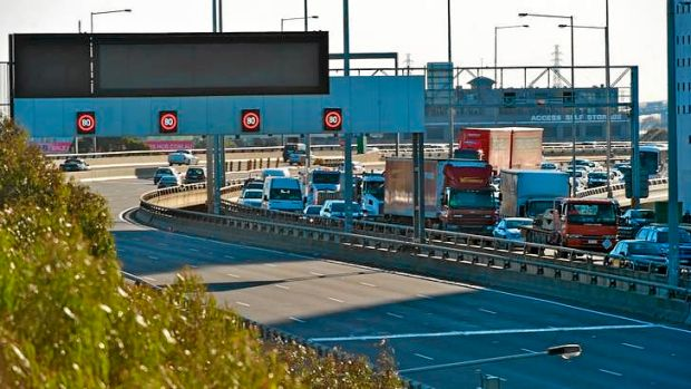 Citylink Domain tunnel opened to traffic late yesterday after being closed all day.