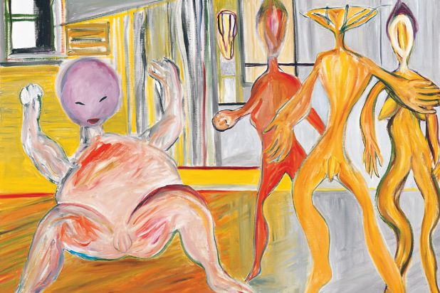 The Palm Wine Drinkard: The Drinkard and the Full Bodied Baby, Ken Whisson, 2004