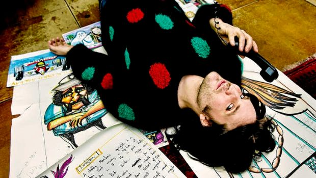 Unsettling and hypnotising ... Noel Fielding's surrealist comedy has won a global following.