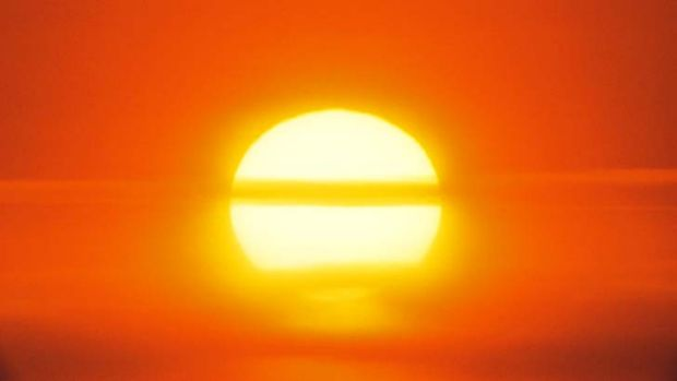 No let-up in the heat for much of Central Australia.