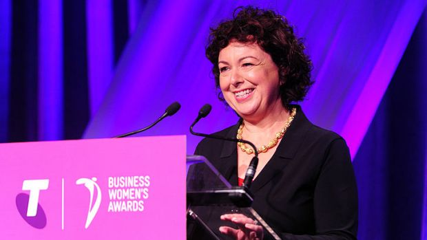 Queensland businesswoman of the year Therese Rein.