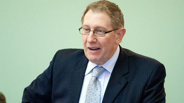 Former Housing and Public Works Minister Bruce Flegg.