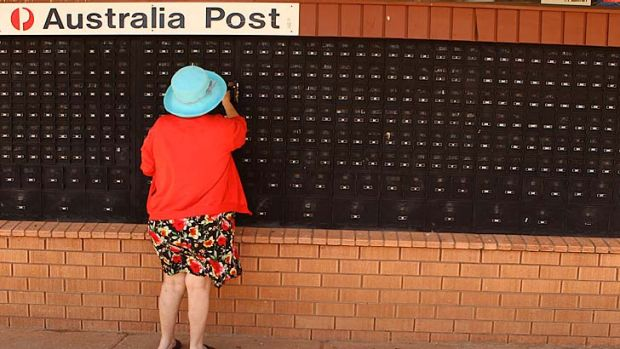 Community care … the residents of Lightning Ridge are battling to retain their discounted post boxes in the face ...