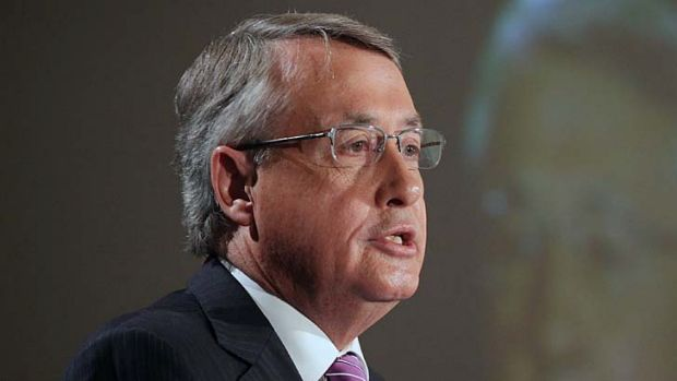 """If you're not happy with your lender, then I encourage you to look for a better deal"" ... Treasurer Wayne Swan."