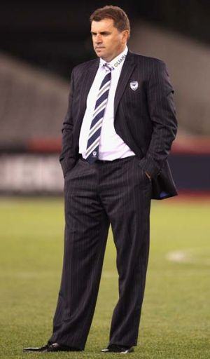 Disappointed: Ange Postecoglou.