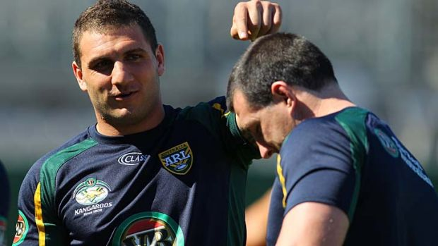 Proud achievement … bench player Robbie Farah will play for the Kangaroos for the first time on home soil.