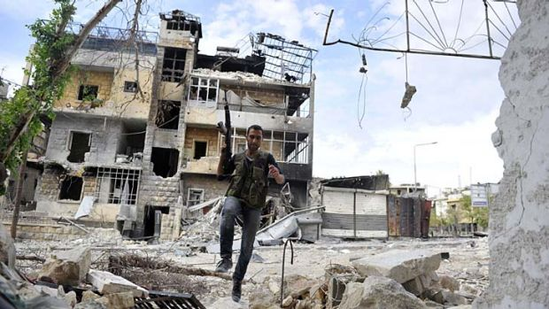 Condemned by the United Nations ... attacks in Aleppo, near Syria's northern border.
