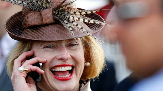 Hoopla: Gai Waterhouse has a strong relationship with her regular jockeys Nash Rawiller and Tommy Berry.