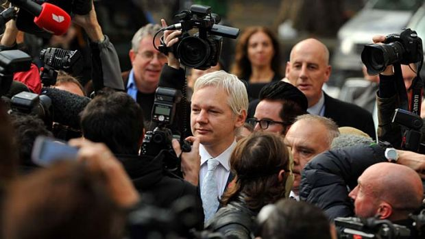 WikiLeaks founder Julian Assange, before  taking up residence in the Ecuadorian embassy in London, where he has had a ...