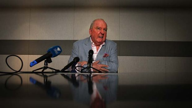 No advertisers ... Alan Jones.