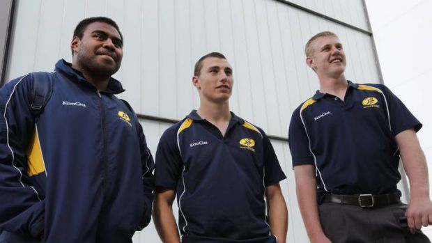 Australian Schoolboys Team representatives Neori Nadruku, Andrew Robinson and Tom Staniforth are back in Canberra after ...