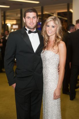 Jack Darling and Courtney Brahan.
