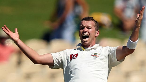 Australian paceman Peter Siddle.