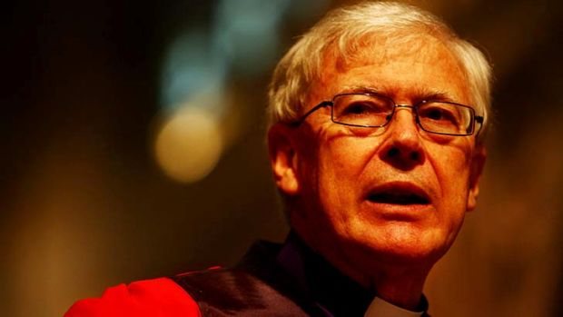 "The song ""I did it my way"" ... a sign of vulgar egotism, says Archbishop Peter Jensen."