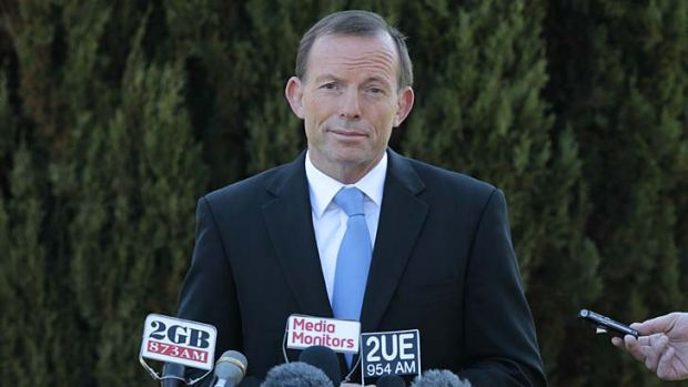 In support of deferring the deregulation of the national wheat market ... Opposition Leader Tony Abbott.
