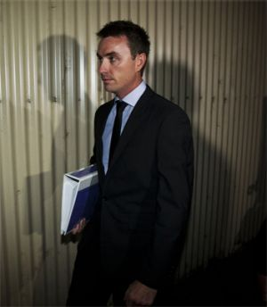 James Ashby is suffering from 'chronic and pervasive mental health symptoms'.